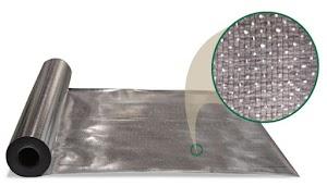 Commerical Attic Grade 50 Radiant Barrier Ultra Foil Insulation 1000 sq ft roll