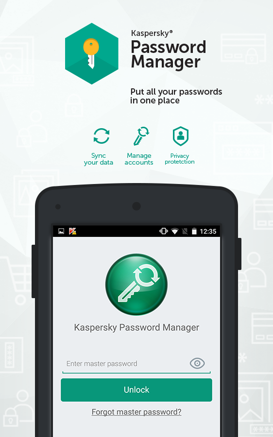 Kaspersky Password Manager- screenshot