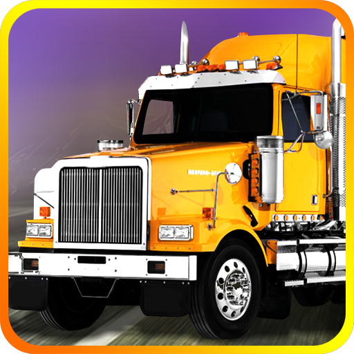 Transporter Truck Driving