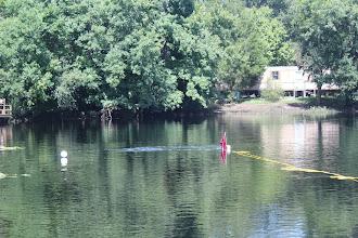 Photo: Divers down.