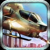 Air Strike Gunship Helicopter