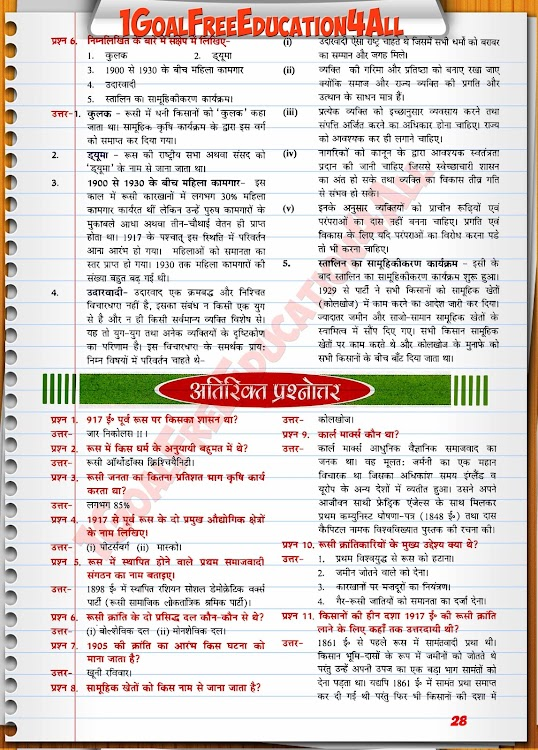 Class 9th History Hindi Medium Ncert Solutions – (Android