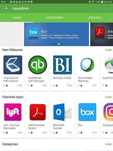 Mobile@Work  screenshots 6