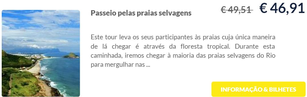 Praias Selvagens do Rio de Janeiro - Ingressos sem fila TicketBar