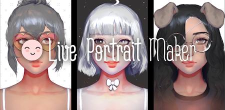 Live Portrait Maker: Girls APK poster
