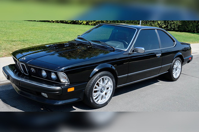 1987 BMW 635CSi Hire CA