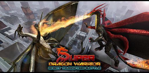 super dragon warrior robot transform battle apps on google play