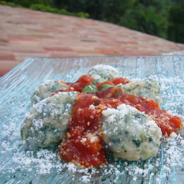 Provencal Chard and Ham Dumplings Recipe