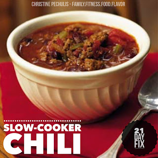 Classic Crockpot Chili - 21 Day Fix