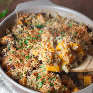 Butternut Squash Gratin with Onions