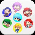 HD обои аниме Kuro корзина icon
