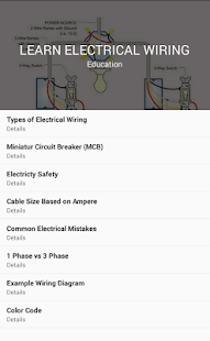 Learn Electrical Wiring - Apps on Google Play