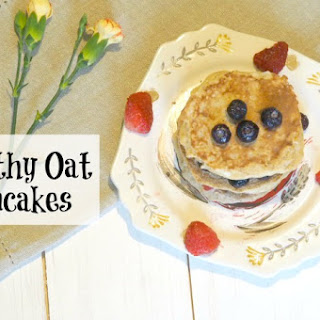 Healthy Oat Pancakes…. Recipe