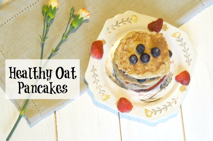 Healthy Oat Pancakes…. Recipe