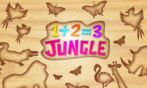 1+2=3 : Jungle Puzzles