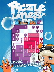 Piczle Lines Jr. Blue APK screenshot thumbnail 1