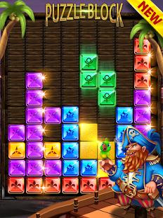 Blok puzzle pirátský klenot - náhled