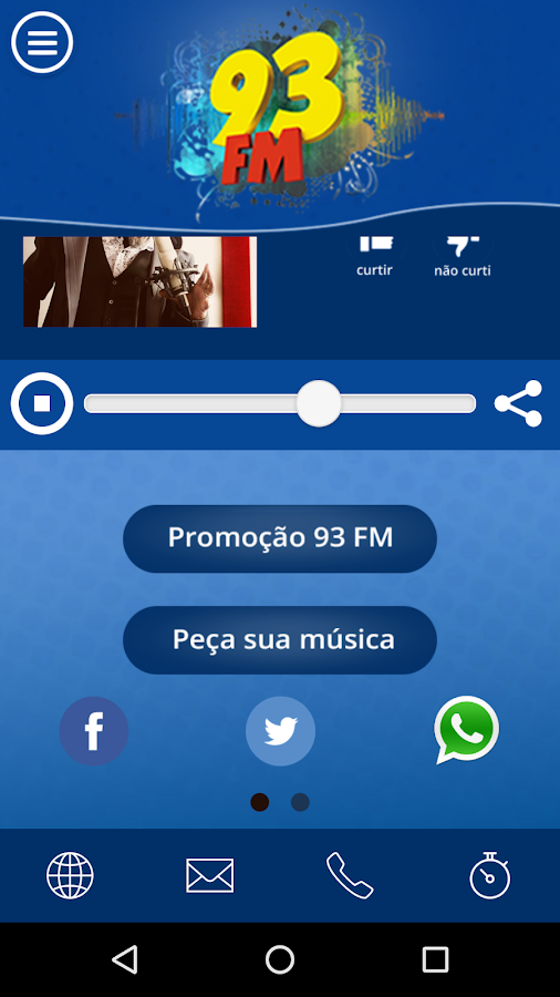 Radio 93 FM- screenshot