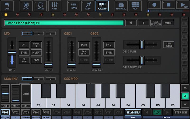 G-Stomper Studio Screenshot 3