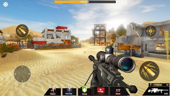 Bullet Strike: Sniper Games - Free Shooting PvP Screenshot