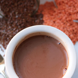 Energy Hot Cocoa with Chia & Flax