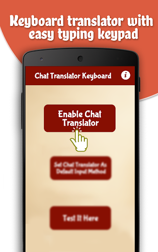 Chat Translator Keyboard - Easy Typing Keypad hack tool