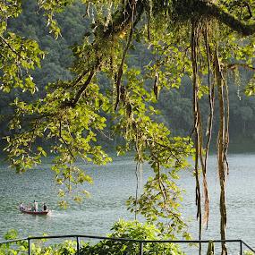 Lake by Pramesh Pokharel - Landscapes Waterscapes