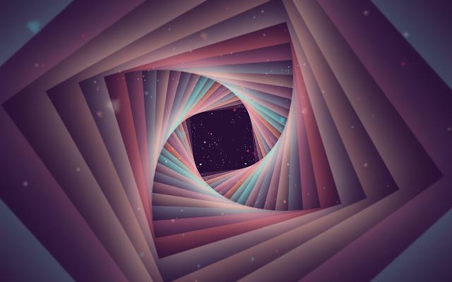 Kaleidoscope animation effect
