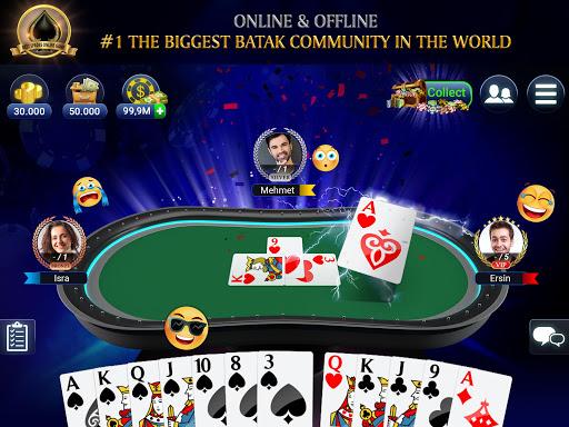 Batak Club: Online Batak Eu015fli Batak u0130haleli Batak 5.4.5 screenshots 9