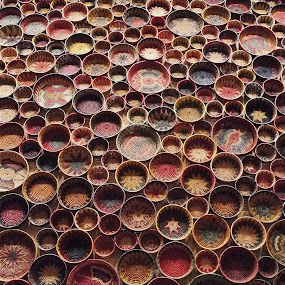 CANASTAS / EL BAJIO by Jose Mata - Artistic Objects Cups, Plates & Utensils