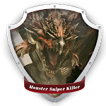 Monster Sniper Killer Icon