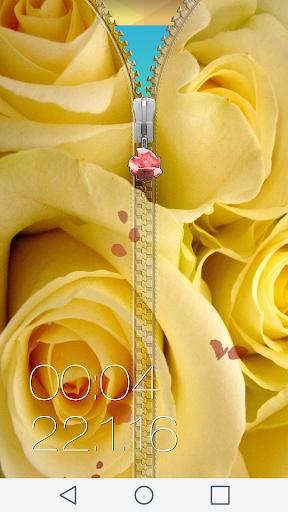 玩個人化App|玫瑰 拉链锁屏免費|APP試玩