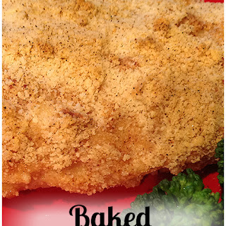 Baked Almond Chicken ~ Low Carb.