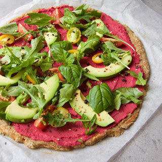 Cauliflower Crust Pizza [Vegan].