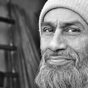 by Dr .Ghanshyam Patel - Black & White Portraits & People (  )