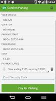 Screenshot of RingGo Parking