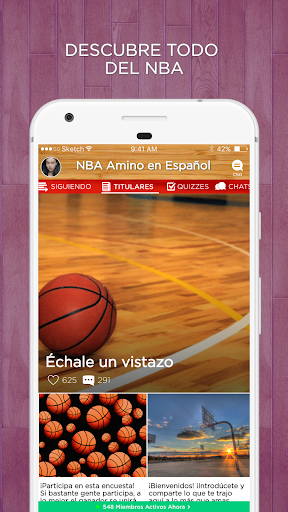 Amino para NBA 2.1.26323 screenshots 1