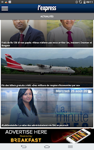 L'Express (La Sentinelle LTD)- screenshot thumbnail