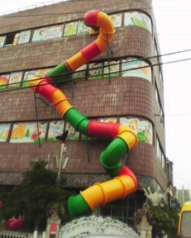 The School's Fire Escape
