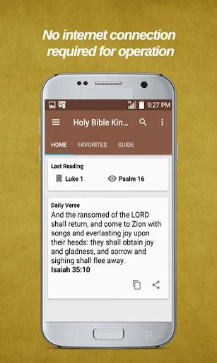 The Holy Bible - Free KJV Bible Offline