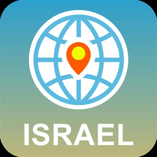 イスラエル 地図オフライン 旅遊 App LOGO-硬是要APP