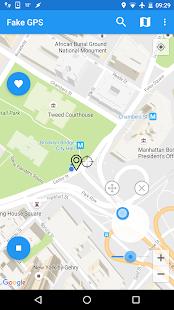 Fake GPS Joystick & Routes Go apk screenshot 7