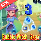 Hint Bubble Witch Saga 3