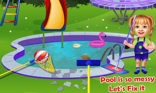 Sweet Baby Girl Pool Party Games: Summer Pool Fun 1 9