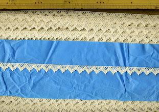 Photo: №3897-1-108綿100%:トーションキナリ:巾14mm