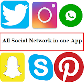 All Social Network in one app icon