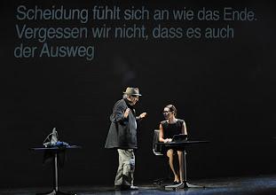Photo: WIEN/ Kammerspiele: CHUZPE von Lily Brett. Premiere am 22.11.2012. Inszenierung: Dieter Berner. Mit  Otto Schenk, Sandra Cervik. Foto: Barbara Zeininger.