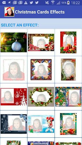 玩免費遊戲APP|下載FotoEfectos Tarjetas d Navidad app不用錢|硬是要APP