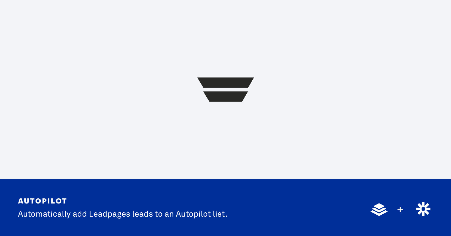 Integrate Autopilot with Leadpages via Zapier Integration