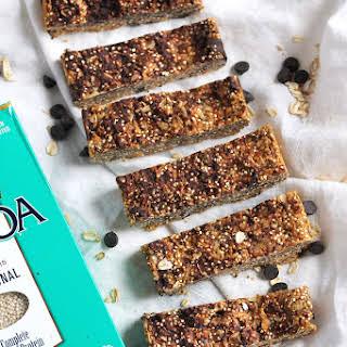 Incredible Peanut Butter Quinoa Granola Bars.